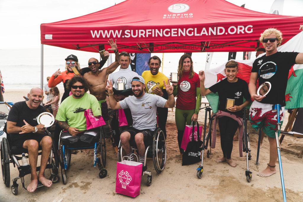 Anglais Adaptive Surf Open - Plage de Fistral
