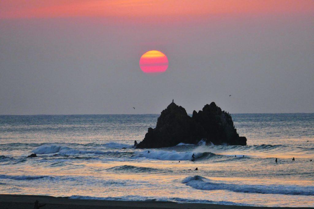 Long Beach à Tahara, au Japon, sera le site de l'événement de cette année. Photo: Tahara LOC