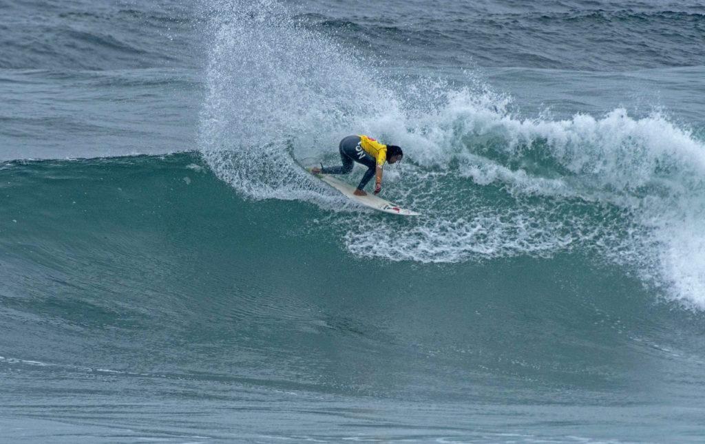 Analí Gomez, du Pérou, a remporté la médaille d'or des femmes aux Jeux mondiaux de surf 2014 de l'ISA. Photo: ISA / Tweddle