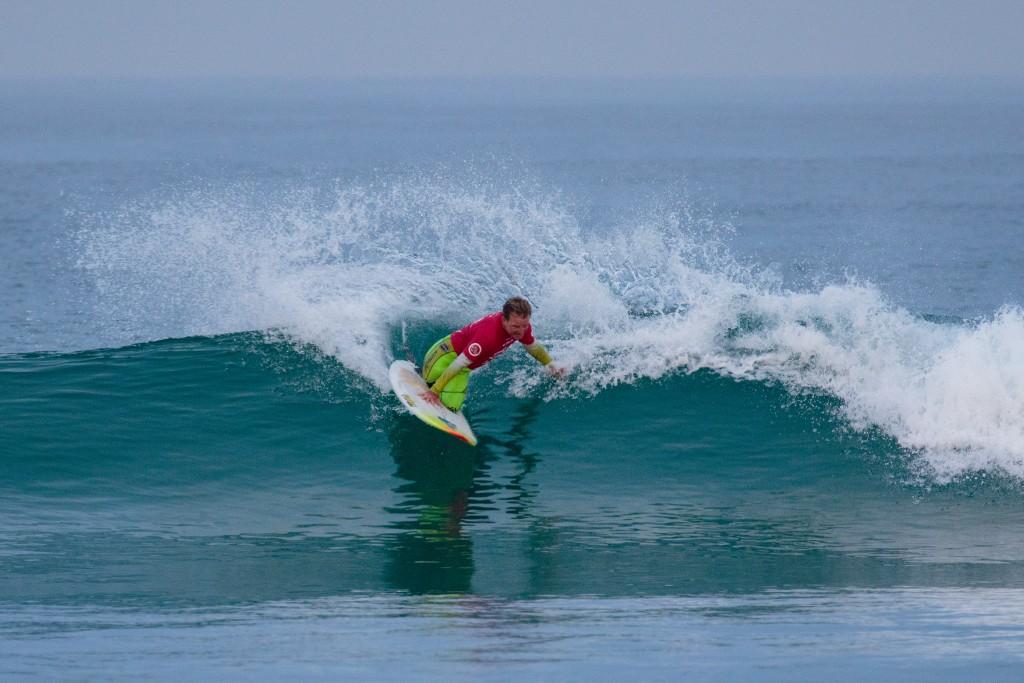 Le double médaillé d'or de l'Australie, Mark 'Mono' Stewart, s'est hissé à la première place du vendredi matin. Photo: ISA / Chris Grant