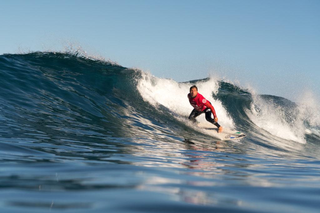 La Brésilienne Figue Diel est complètement aveugle, mais cela ne l'empêche pas de trouver le spot parfait sur la vague. Diel cherchera à gagner sa première médaille d'or en 2018. Photo: ISA / Sean Evans