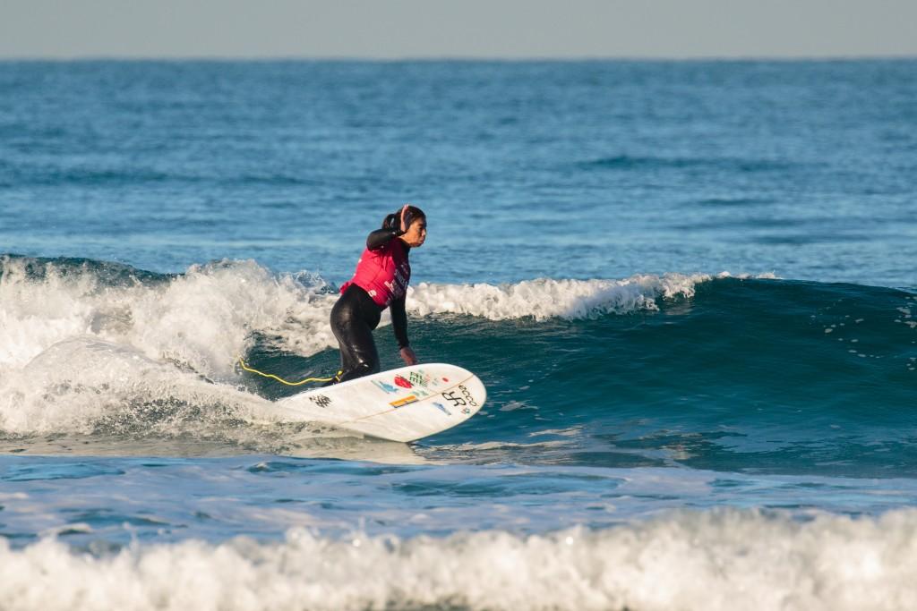 Kazune Uchida a remporté la première médaille d'or du surf adaptatif pour le Japon en 2017, qui défendra son titre dimanche. Photo: ISA / Chris Grant