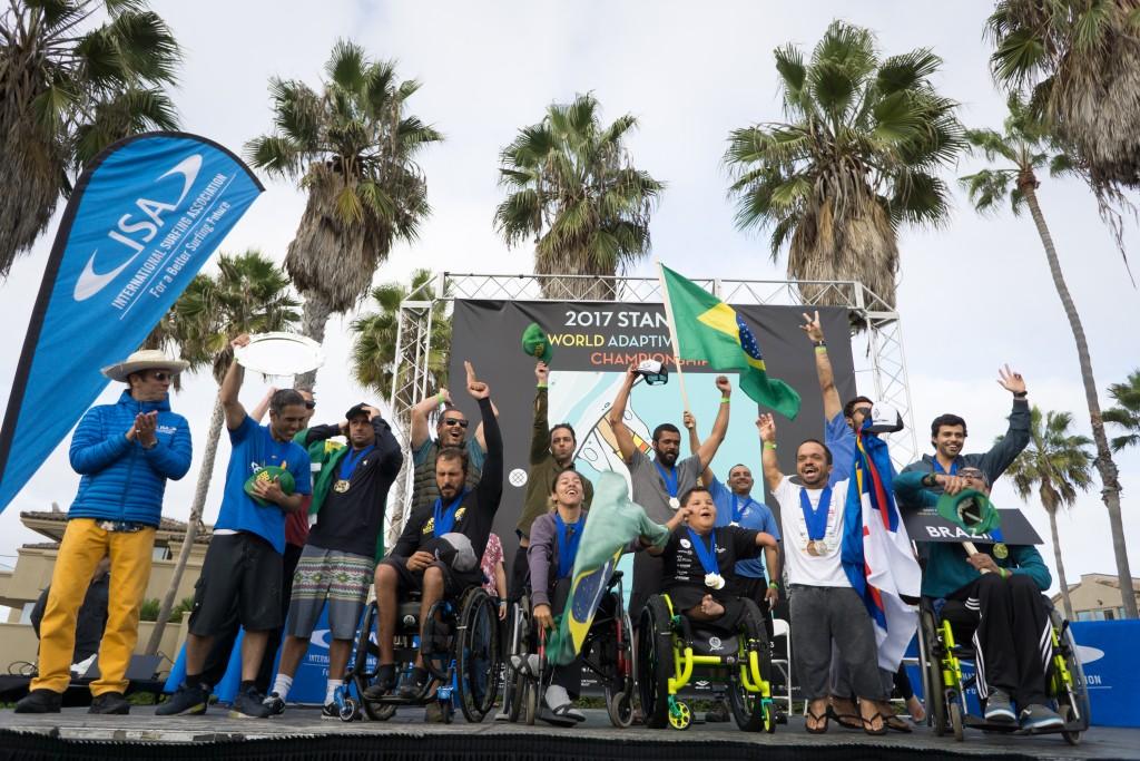 Équipe Brésil cherchera à remporter son troisième titre consécutif par équipe. Photo: ISA / Sean Evans