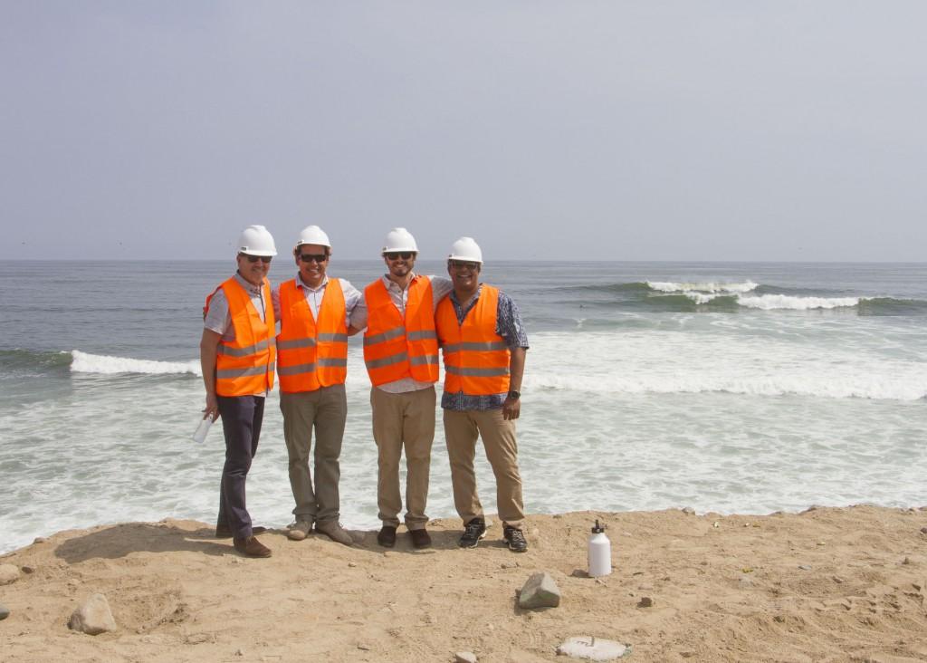 Visiter le site de Punta Rocas et les vagues ont bonne mine! Photo: Jose Duarte