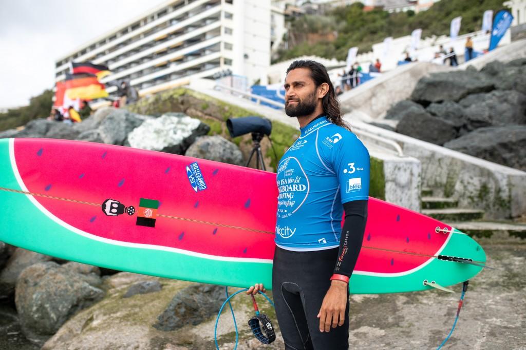 L'Afghanistan Afridun Amu a été éliminé de la compétition, mais son message visant à améliorer le monde grâce au surf demeure. Photo: ISA / Pablo Jimenez