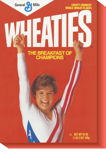 Jeux Olympiques Wheaties